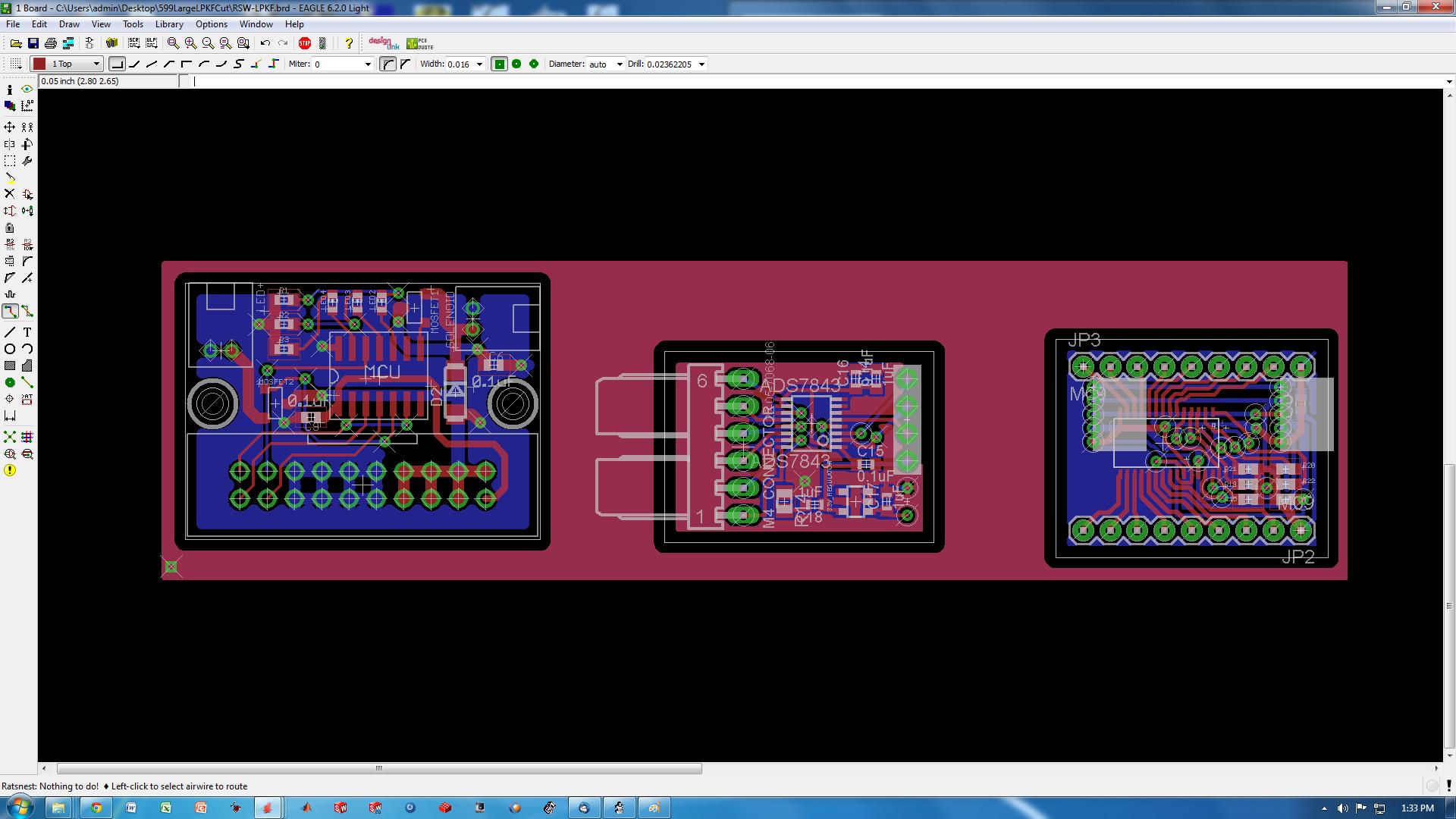 MEAM.Design : MAEVARM : Preparing an Eagle Board File for the S62